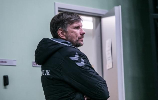 Pärnu peatreener Igor Prins. Foto: Brit Maria Tael