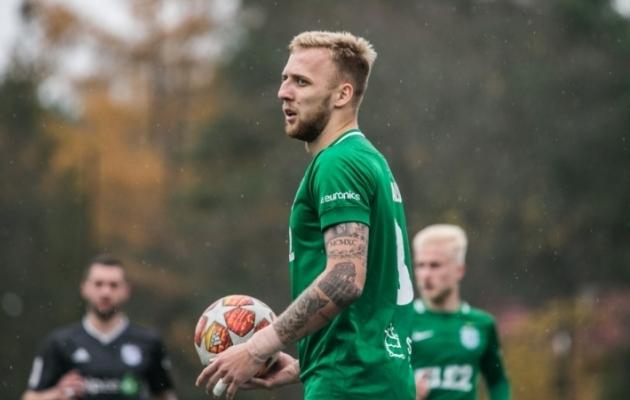 FC Flora poolkaitsja Mihkel Ainsalu. Foto: Brit Maria Tael