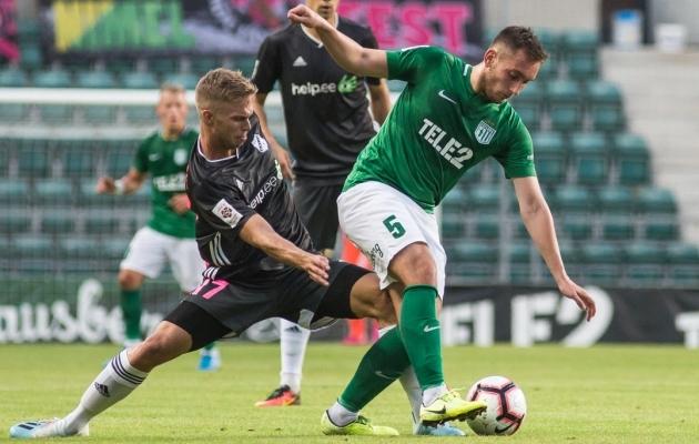 FC Flora poolkaitsja Vladislav Kreida. Foto: Jana Pipar / jalgpall.ee