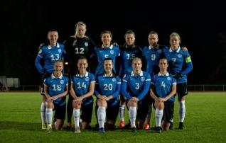 Naiste koondis testib võimeid Soome tippklubi vastu