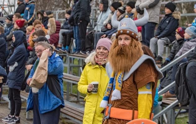 Isegi viikingid ei suutnud Kuressaaret päästa. Foto: Allan Mehik