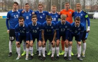 Karl Jakob Hein tõrjus penalti, aga Eesti U19 kaotas kindlalt