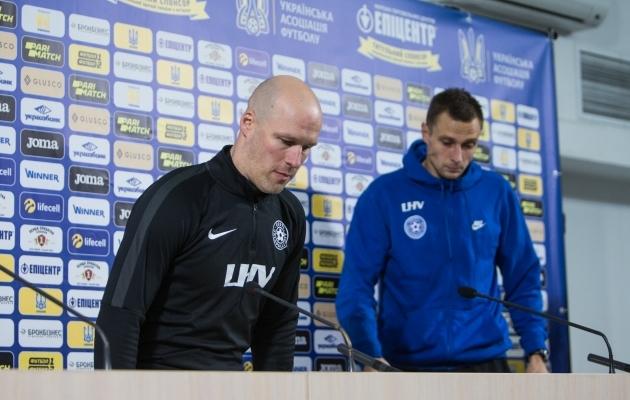 Eesti jalgpallikoondise peatreener Karel Voolaid. Foto: Jana Pipar / jalgpall.ee