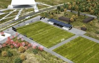 Algas Tartu kaasava eelarve hääletus, kus saab toetada Raadi jalgpallipargi tribüünihoone rajamist