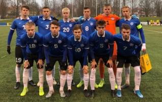 U19 koondis lagunes Rootsi vastu viie saatusliku minutiga