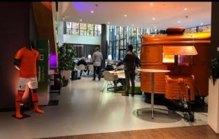 Galerii: vaata, millistes tingimustes treenib ja toimetab maailma tippu kuuluv Hollandi koosseis