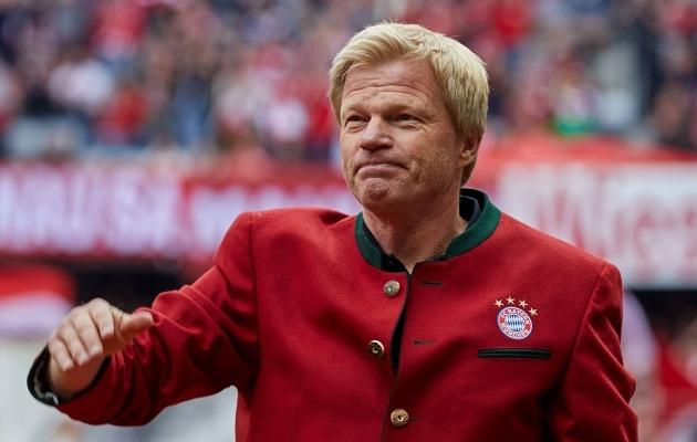 Oliver Kahnist saab aastal 2021 Bayerni tegevjuht. Foto: fcbayern.de