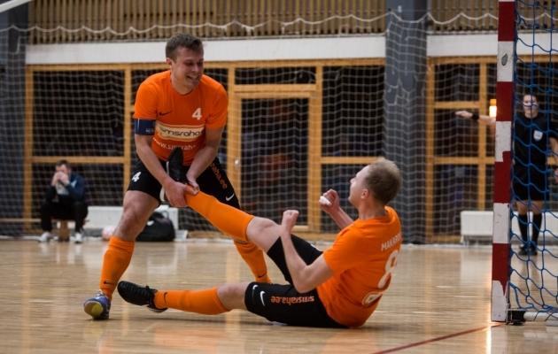 Sergei Kostin ja Artur Makarov. Foto: Jana Pipar / jalgpall.ee
