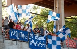 Vutifännid aitavad klubisid: Tammeka toetajad kogusid enim raha, Flora, Kalju ja Elva kohe kannul