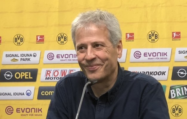 Dortmundi Borussia peatreener Lucien Favre. Foto: Dortmundi Borussia Twitter