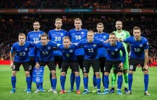 Eesti koondis püsib FIFA edetabelis teises sajas