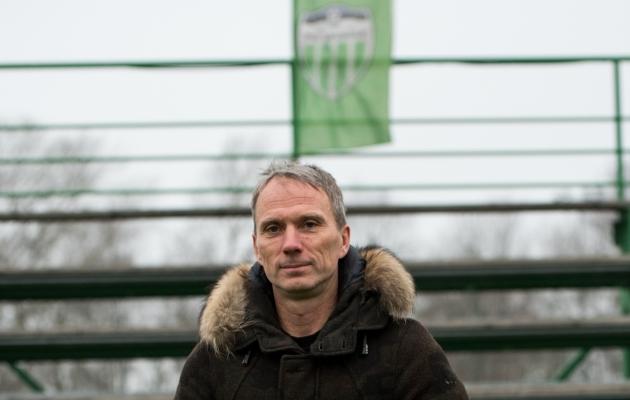 FCI Levadia peatreener Martin Reim. Foto: Anna Andreas
