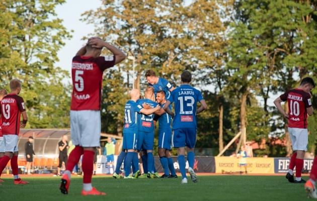 Aasta mäng oli oma nime vääriline. Foto: Liisi Troska / jalgpall.ee