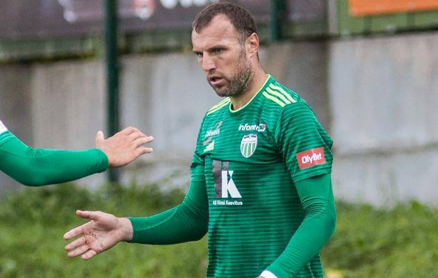 Jevgeni Ossipov. Foto: Jana Pipar / jalgpall.ee