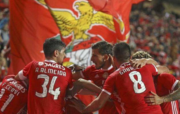 Benfica on üheksamängulise võiduseeria toel tõusnud tagasi liiga tippu. Foto: Benfica Twitter
