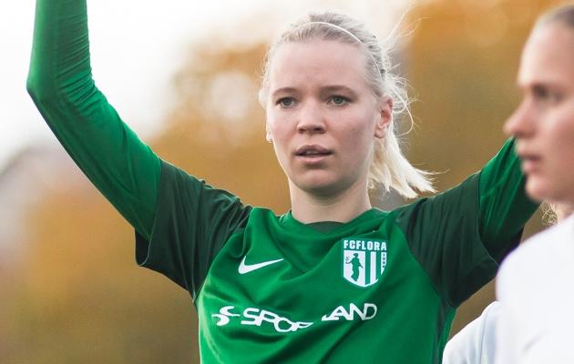 Liis Lepik. Foto: Jana Pipar / jalgpall.ee