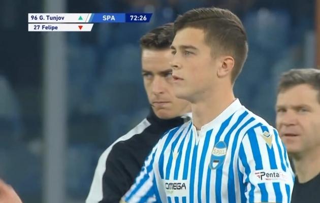 Võimas: 18-aastane Georgi Tunjov debüteeris Itaalia kõrgliigas!