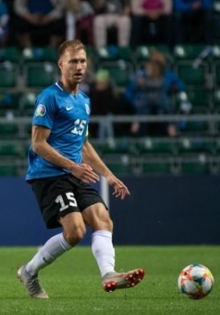 Eesti jalgpallikoondise kauaaegne kapten Ragnar Klavan. Foto: Liisi Troska / jalgpall.ee