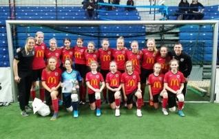 Tüdrukute U15 vanuseklassis võidutses Viimsi MRJK