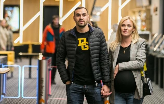 Sergei Zenjov koos abikaasa Svetlanaga eelmise aasta oktoobris. Foto: Brit Maria Tael