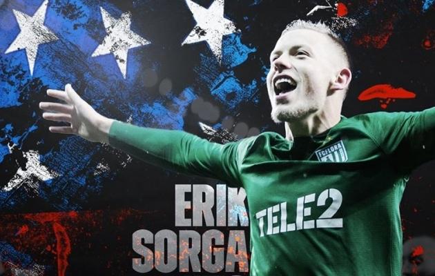 Erik Sorga siirdus D.C. Unitedisse. Foto: FC Flora