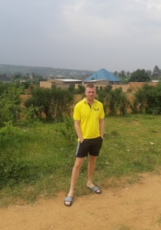 Jaanus Reitel Rwandas. Foto: Erakogu