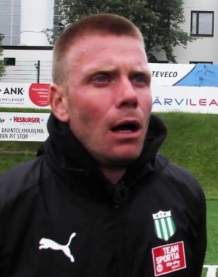Eelmised kaks aastat töötas Jaanus Reitel FC KTP noortetreenerina. Foto: FC KTP Youtube'i-video kuvatõmmis