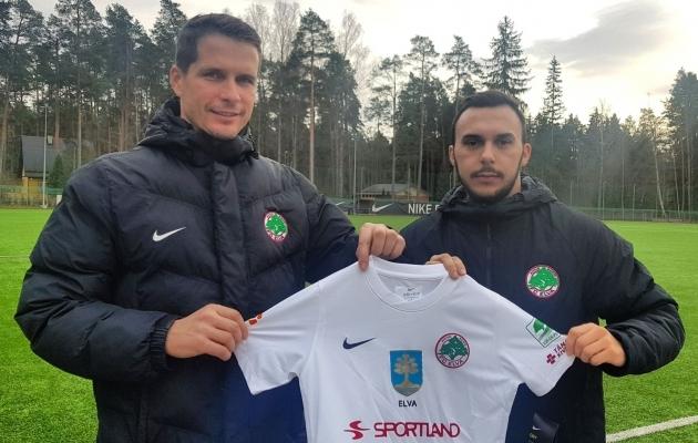 Marek Naaris ja Stefan Ristic. Foto: FC Elva
