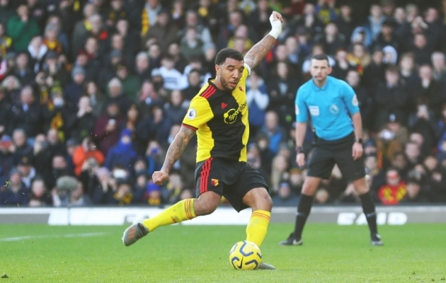 Watfordi kapten Troy Deeney. Foto: Premier League'i koduleht