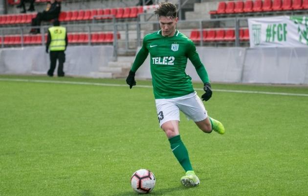 Soomets liitus Flora treeningutega 3. jaanuaril. Turu Interi vastu mängis ta Tallinnas 90 minutit. Foto: Brit Maria Tael