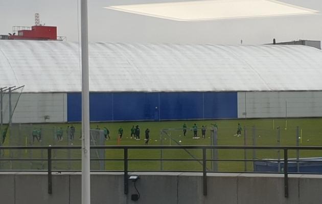 FC Flora tänane treening Lilleküla muruväljakul. Foto: Raul Ojassaar / Jalka