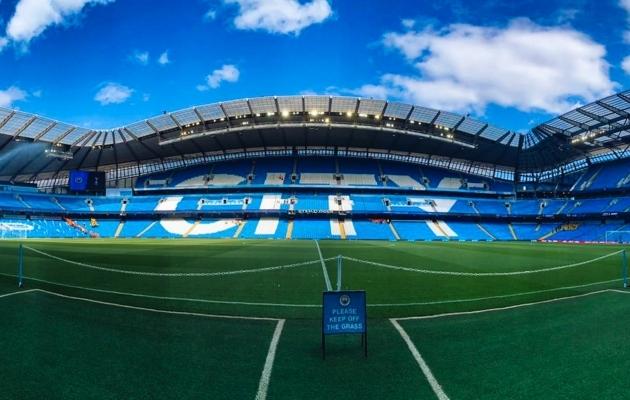 Etihadi staadioni sponsorlepingus kahtlustati keelatud diili. Foto: Manchester City Twitter