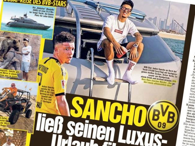 """""""Ärpleja-Sancho"""" puhkus võeti Bildis põhjalikult ette. Foto: Bild / Andres Must"""