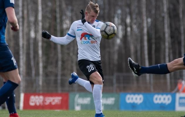 Kevin Rääbis. Foto: Liisi Troska / jalgpall.ee