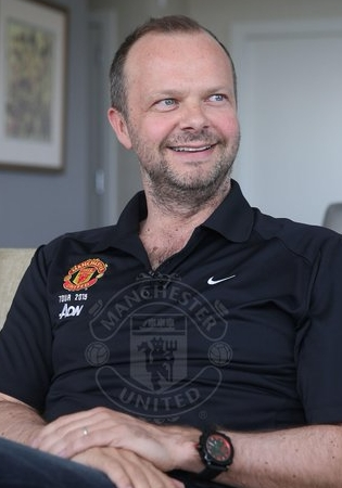 Manchester Unitedi tegevjuht Ed Woodward. Foto: Manchester Unitedi Twitter
