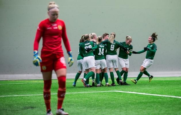 Flora võitis Hammarbyt 1:0. Foto: Brit Maria Tael
