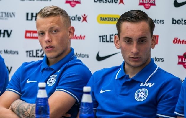 Vanuse poolest võiksid Erik Sorga ja Vladislav Kreidagi veel U21 koondises mängida. Foto: Brit Maria Tael