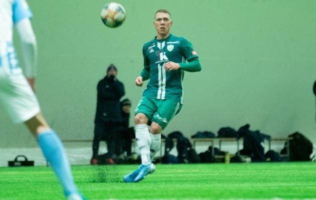 Trevor Elhi. Foto: Liisi Troska / jalgpall.ee
