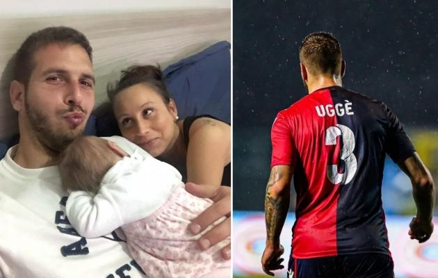 Premium liiga legendi Maximiliano Ugge elu keerleb ümber 9. jaanuaril sündinud tütre Aurora. Koduklubis Gozzanos on ta ülendatud kapteniks. Fotod: Erakogu