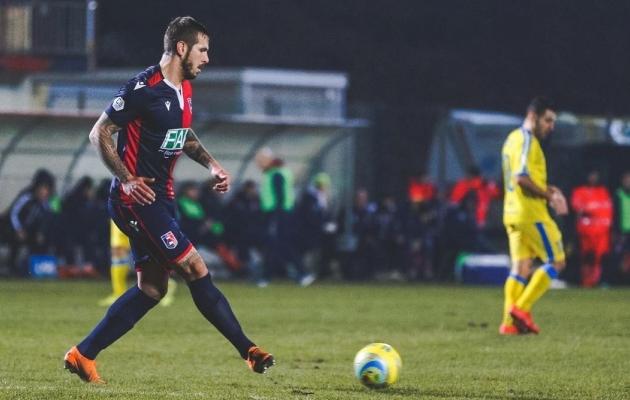 Maximiliano Ugge on Serie C klubi Gazzanoga liitumise järel teinud kaasa meeskonna kõik kohtumised ning tõusnud kapteniks. Foto: Erakogu