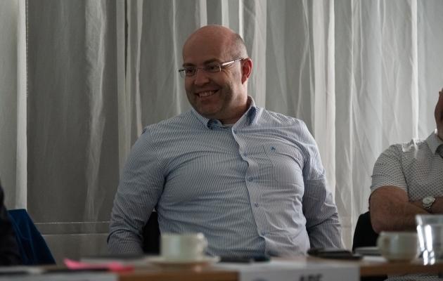 Digitaalse meedia spetsialist Mario Leo käis Eestis ka möödunud suvel UEFA Grow kogukonnajuhtide projekti raames. Foto: jalgpall.ee