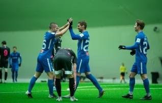 Tammeka kostitas Läti esiliigaklubi kuue väravaga