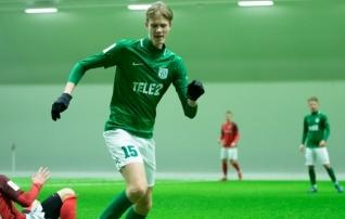 Flora U21 ja Levadia U21 lõid täna kahe peale 13 väravat