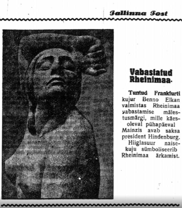 Tallinna Post, 20. juuli 1930. Foto: DIGAR