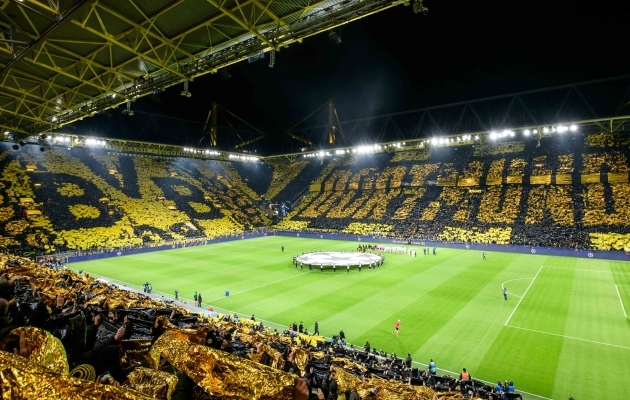 Kus oleks Borussia ilma Bayernita? Foto: UEFA CL Twitter