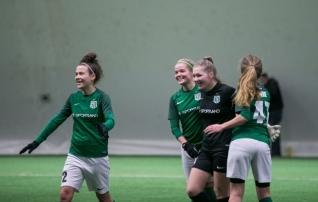 Homme saab jalgpallihallis ära vaadata kõik meistriliiga naiskonnad