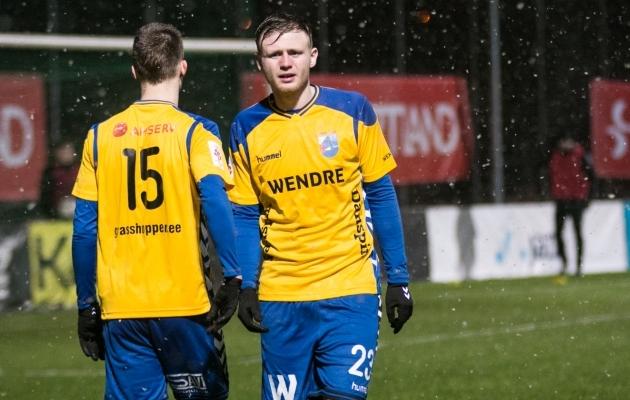Hooajal 2015 Premium liigas 11 väravat löönud Taavi Laurits on tagasi Pärnumaal. Foto: Jana Pipar