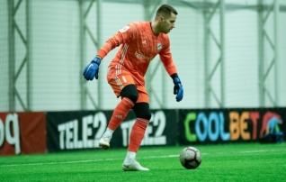Meeritsa penaltitõrje ei lasknud lätlastel kolmandat Eesti klubi võita