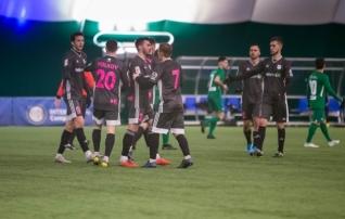 Meeritsa penaltitõrje ei lasknud lätlastel kolmandat Eesti klubi võita  (galerii!)
