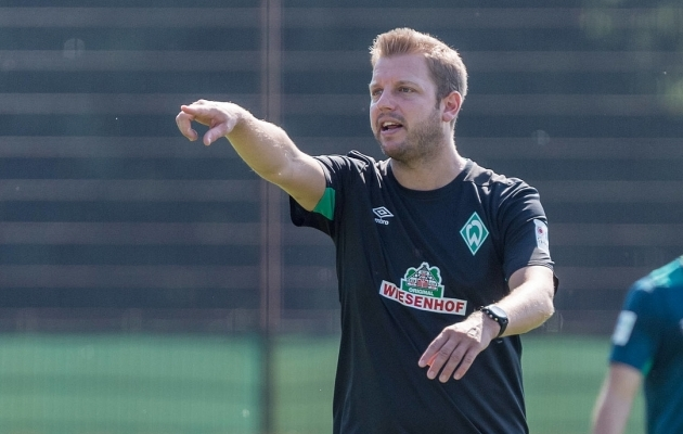 Kohfeldt püsib seni Werderi pukis. Foto: werder.de